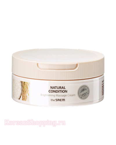 THE SAEM Natural Condition Brightening Massage Cream