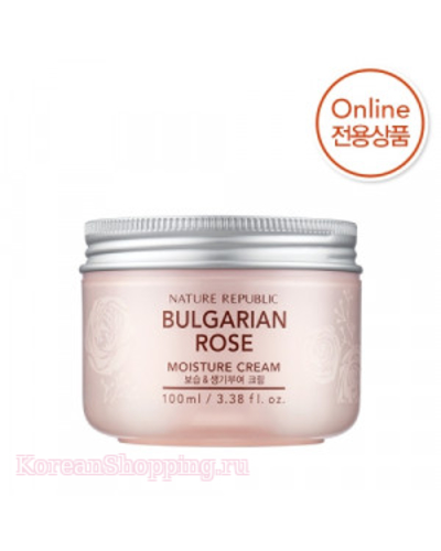 NATURE REPUBLIC Bulgarian Rose Moisture Cream