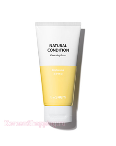 THE SAEM Natural Condition Cleansing Foam [Brightening]