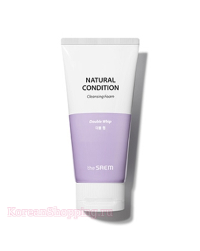 THE SAEM Natural Condition Cleansing Foam [Double Whip]