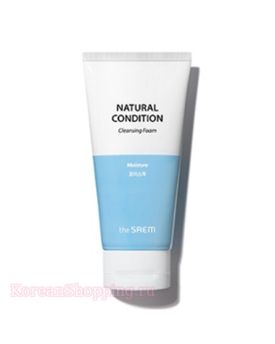 THE SAEM Natural Condition Cleansing Foam [Moisture]