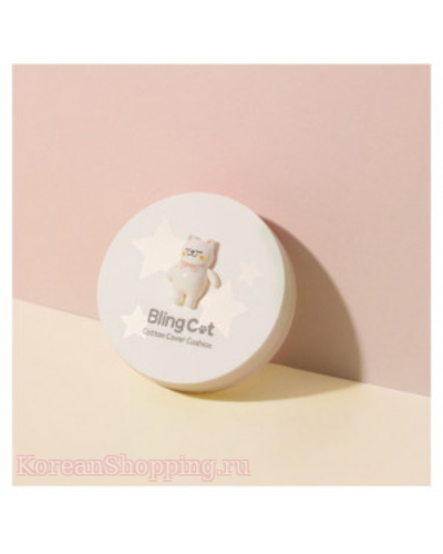 TONYMOLY Bling Cat Cotton Cover Cushion