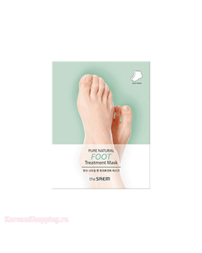 THE SAEM Pure Natural Foot Treatment Mask