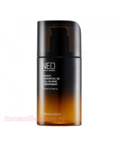 THE FACE SHOP Neo Classic Homme Black Essential 80 All In One Treatment