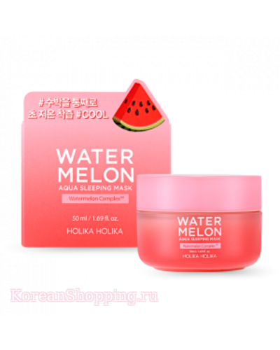 HOLIKAHOLIKA Water Mellon Aqua Sleeping Mask