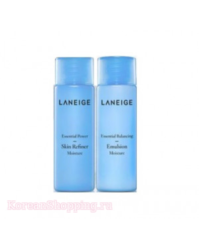 LANEIGE Essential Power Skin + emulsion Refiner Moisture