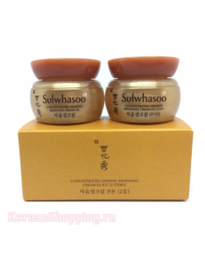 SULWHASOO Concentrated Ginseng Renewing Cream Kit