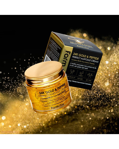 Farmstay 24k Gold & Peptide Perfect Ample Cream