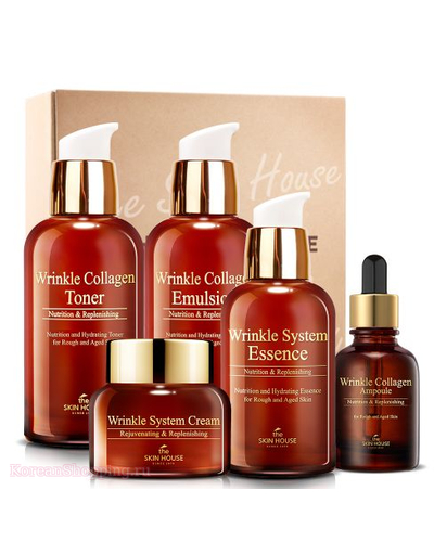 THE SKIN HOUSE Wrinkle Collagen Care Set