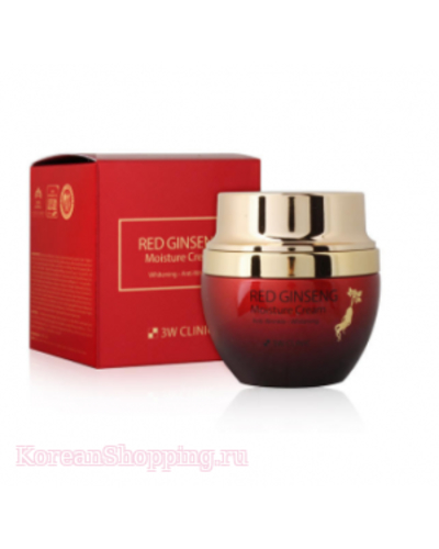 3W CLINIC Red Ginseng Moisture Cream