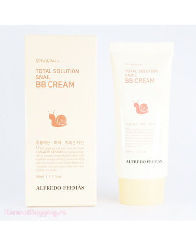ALFREDO FEEMAS Total Solution Snail B.B cream SPF40/Pa++