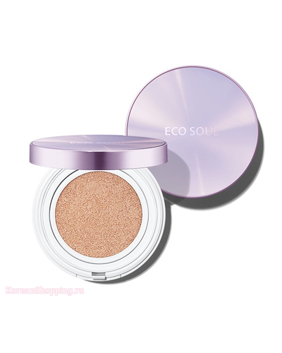 THE SAEM Eco Soul Essence Cushion Waterproof SPF50+ PA++++