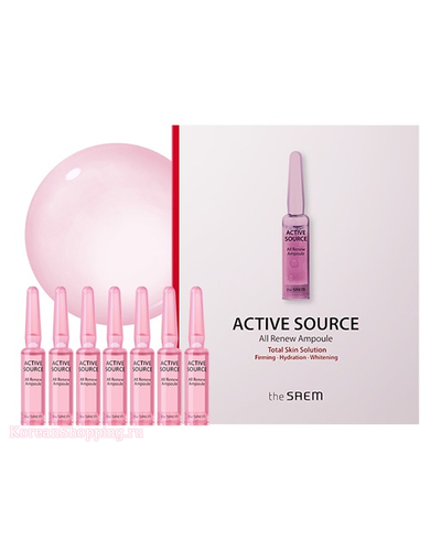 THE SAEM Active Source All Renew Ampoule