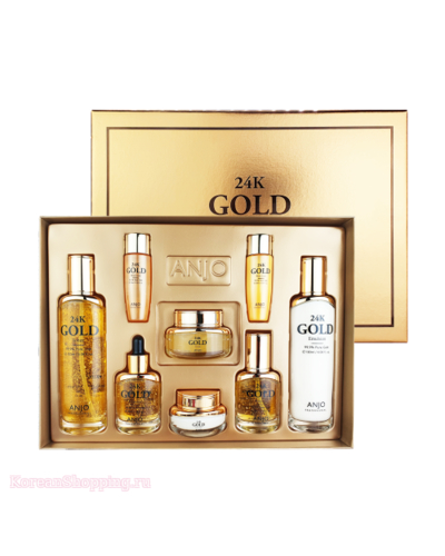ANJO 24K Gold Skin Care Set